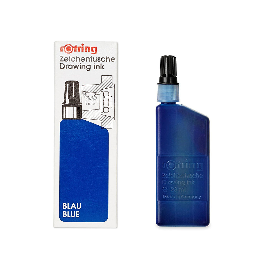 Rotring Refills - Isograph Liquid Ink 23ml - Blue