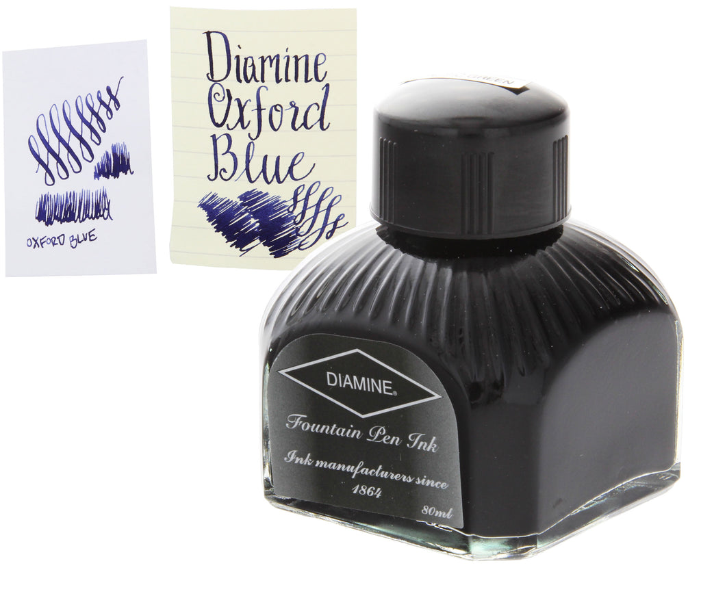 Diamine Refills Oxford Blue Bottled Ink 80mL