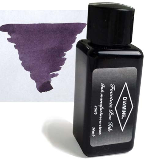 Diamine Refills Damson 30mL  Bottled Ink