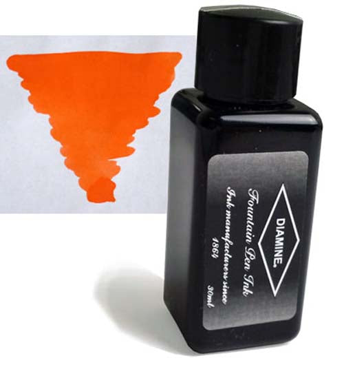 Diamine Refills Peach Haze 30mL  Bottled Ink
