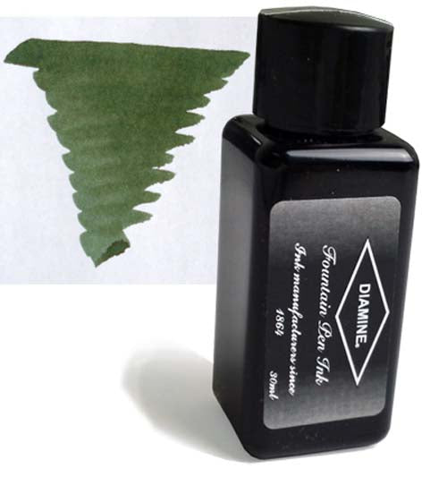 Diamine Refills Evergreen 30mL  Bottled Ink