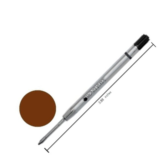 Monteverde Refills Parker-Style Capless - Brown - Fine Point - Gel Pen