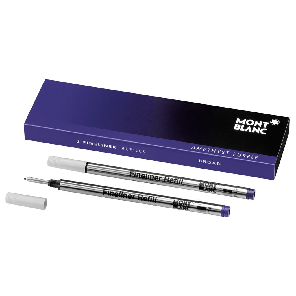 Montblanc Refills Amethyst Purple (2 Pack) Broad Point Fineliner