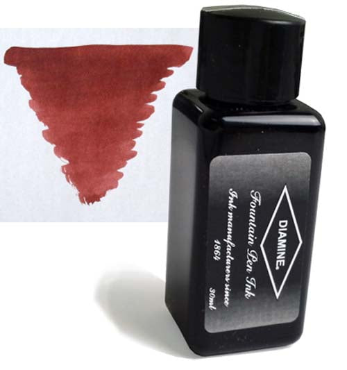Diamine Refills Rustic Brown 30mL  Bottled Ink