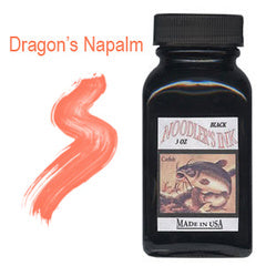 Noodler's Ink Refills Dragon's Napalm Red  Bottled Ink