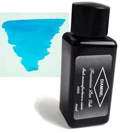 Diamine Refills Turquoise 30mL Bottled Ink