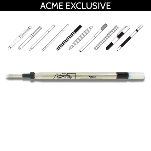 Acme Refills Black 4FP Four Function Pen 5 Pack  Ballpoint Pen
