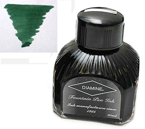 Diamine Refills Umber  Bottled Ink 80mL