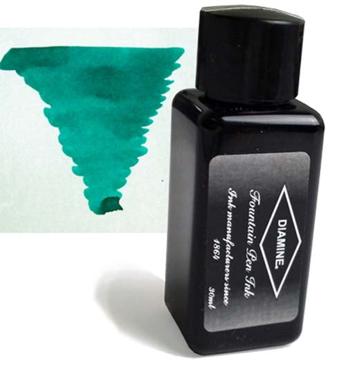Diamine Refills Dark Green 30mL  Bottled Ink