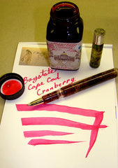 Noodler's Ink Refills Baystate Cape Cod Cranberry  Bottled Ink