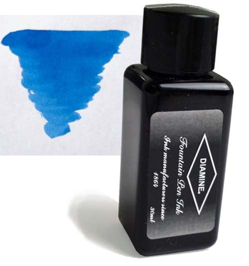 Diamine Refills Presidential Blue 30mL  Bottled Ink
