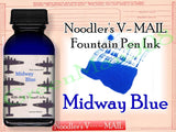 Noodler's Ink Refills V-mail Midway Blue  Bottled Ink