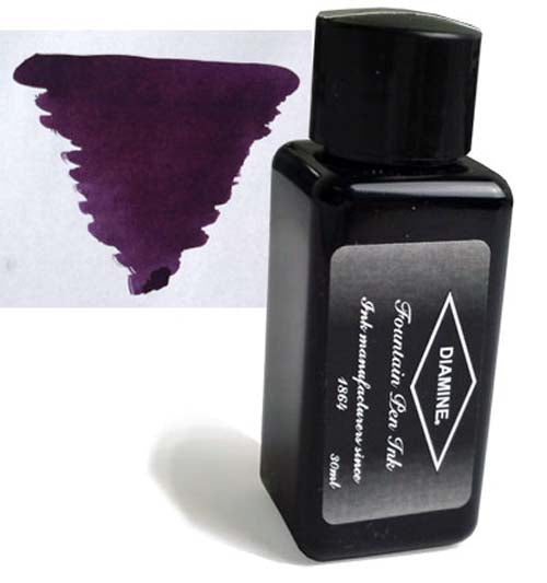 Diamine Refills Grape 30mL  Bottled Ink