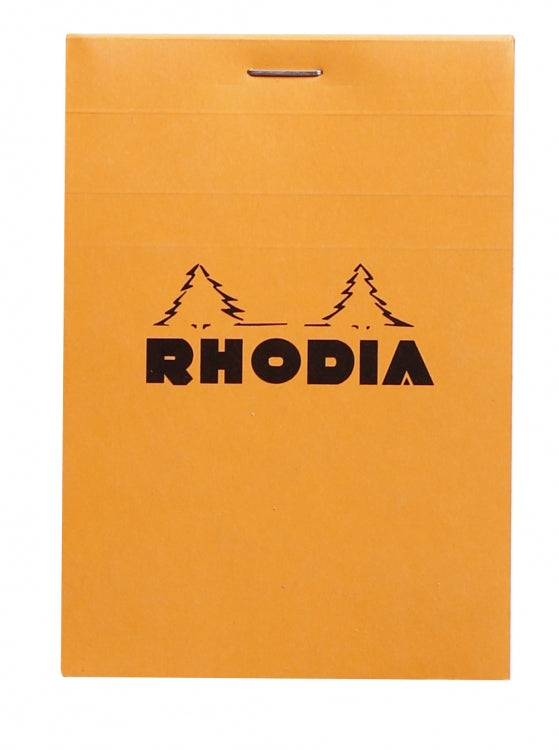 Rhodia Staplebound - Notepad - Orange - Graph - 3.375 x 4.75