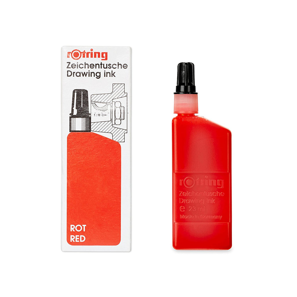 Rotring Refills - Isograph Liquid Ink 23ml - Red