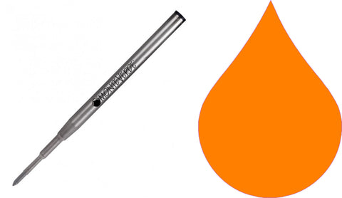Montblanc Refills By Monteverde - Ballpoint Pen - Orange - Medium Point