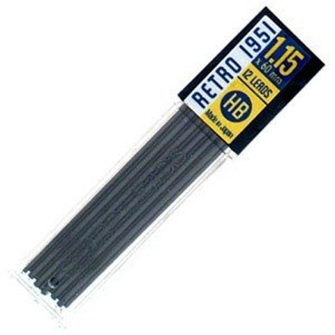 Retro 51 - Tornado Pencil Refills - 1.15 mm Lead - 12 Pack