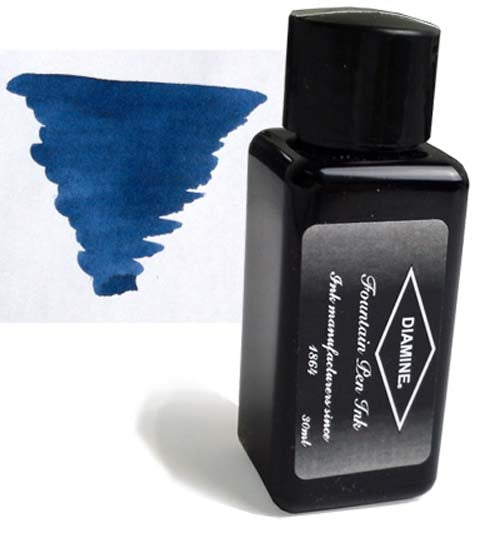 Diamine Refills Midnight 30mL  Bottled Ink