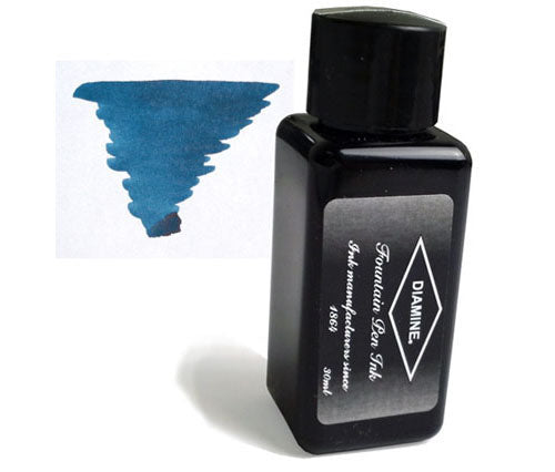 Diamine Refills Blue / Black 30mL  Bottled Ink