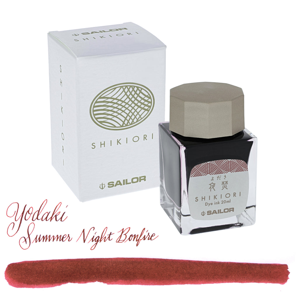 Sailor Refills Shikiori Four Seasons - Yodaki Summer Night Bonfire 20ml Bottled Ink