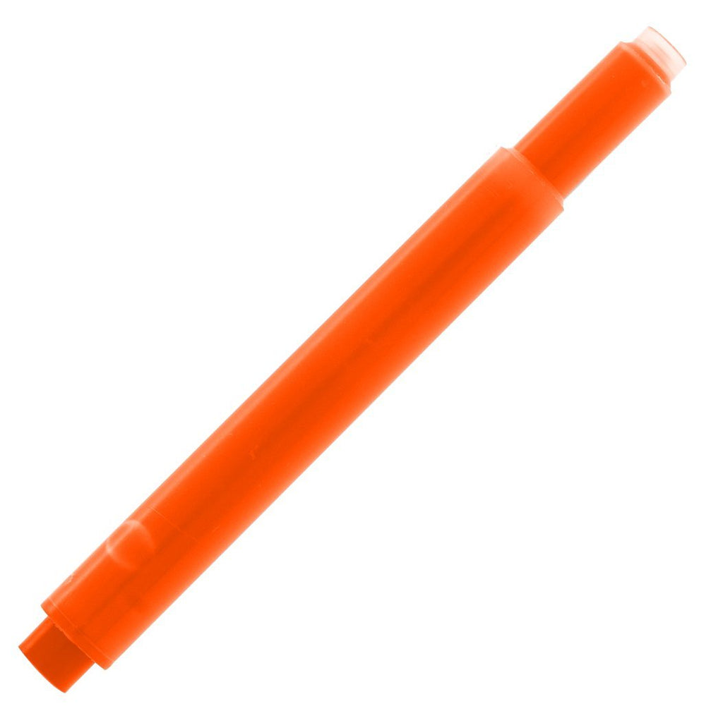 Lamy Refills by Monteverde Fountain Pen Cartridge - Flurorescent Orange (5-Pack)