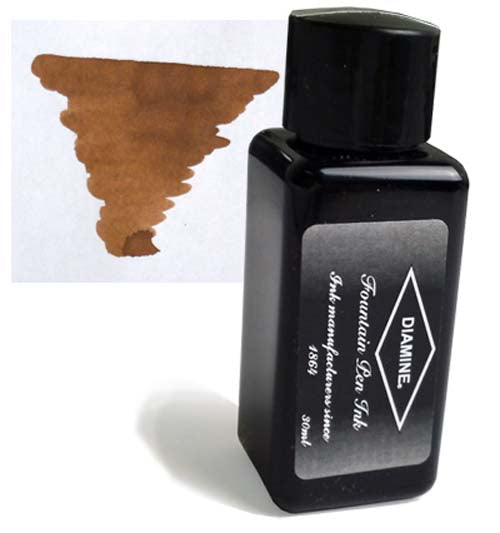 Diamine Refills Raw Sienna 30mL  Bottled Ink