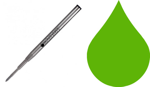 Montblanc Refills By Monteverde - Ballpoint Pen - Green - Medium Point