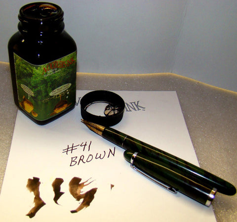Noodler's Ink Refills 41 Brown  Bottled Ink