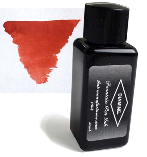 Diamine Refills Monaco Red 30mL  Bottled Ink
