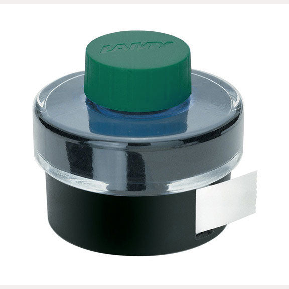 Lamy Refills Green 50mL Ink with Blotting Paper   Bottled Ink