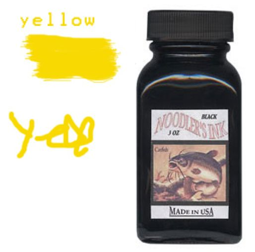 Noodler's Ink Refills Yellow  Bottled Ink