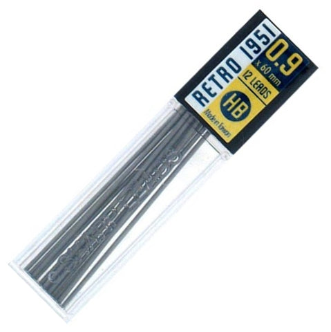 Retro 51 - Tornado Pencil Refills - 0.9mm Lead - 12 Pack