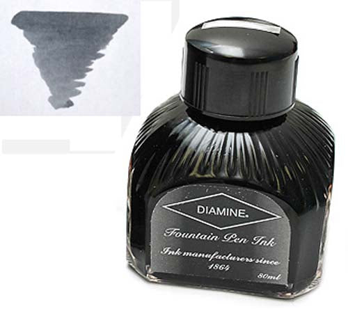 Diamine Refills Grey  Bottled Ink 80mL