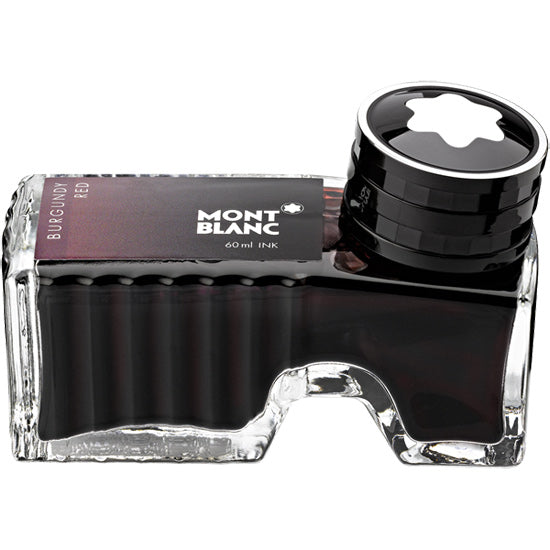 Montblanc Refills Burgundy Red  Bottled Ink