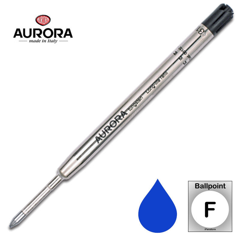 Aurora Refills - Long Life - Blue - Fine Point - Ballpoint Pen