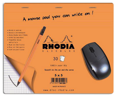RHODIA ADV MOUSEPAD DISPLAY GPH 30S 7-1-2X9