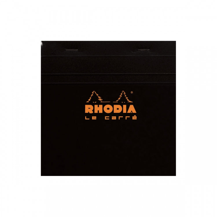 Rhodia Staplebound - Notepad - Black - Graph - Le Carré - 5.75 x 5.75