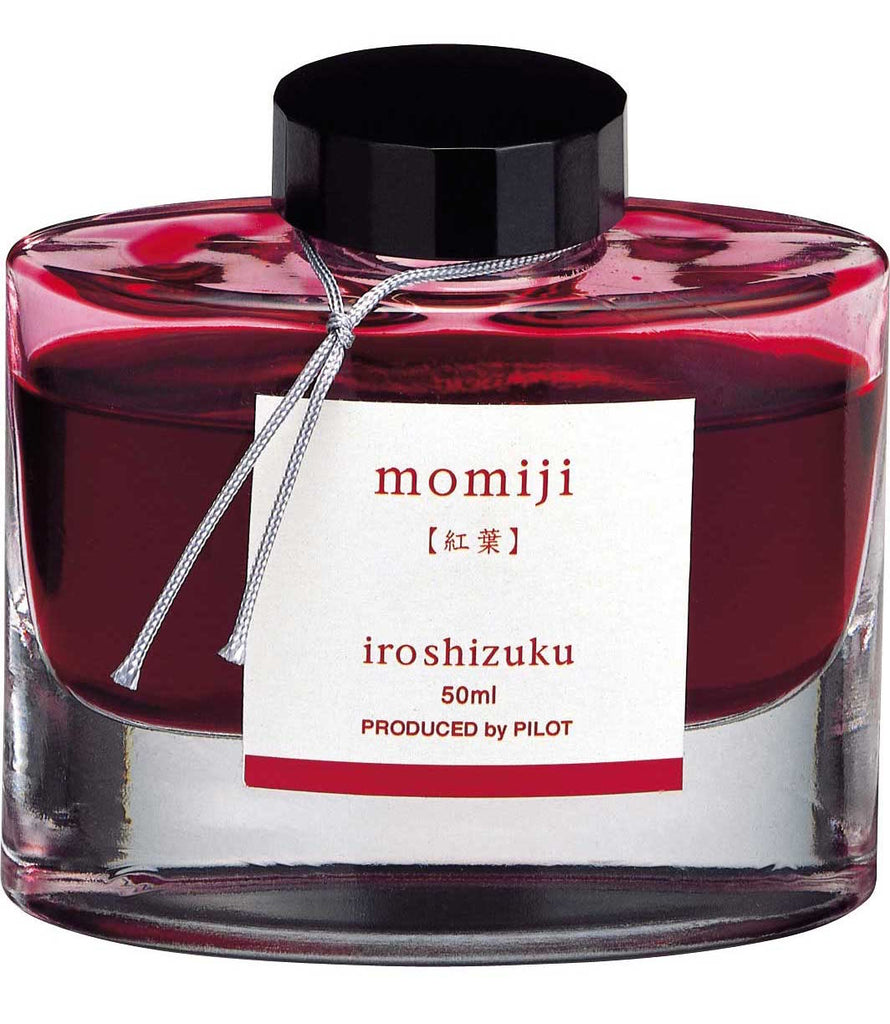 Namiki Pilot Iroshizuku Bottled Ink - Momiji - Autumn Leaves - Vermillion