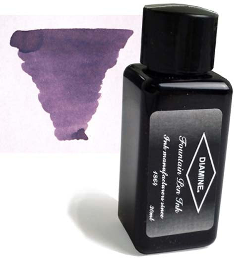 Diamine Refills Amazing Amethyst 30mL  Bottled Ink