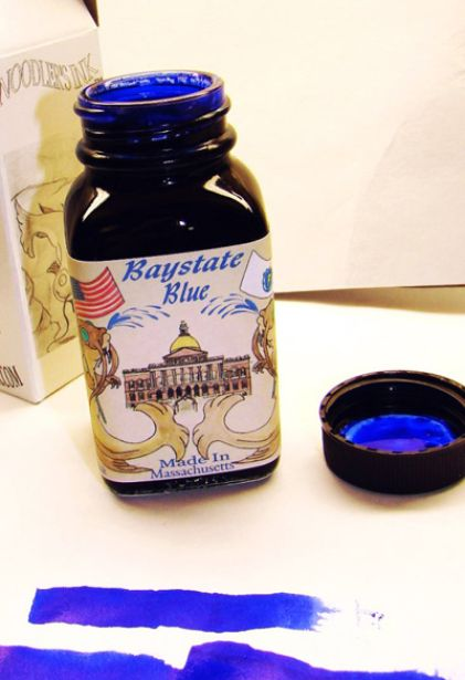 Noodler's Ink Refills Baystate Blue  Bottled Ink