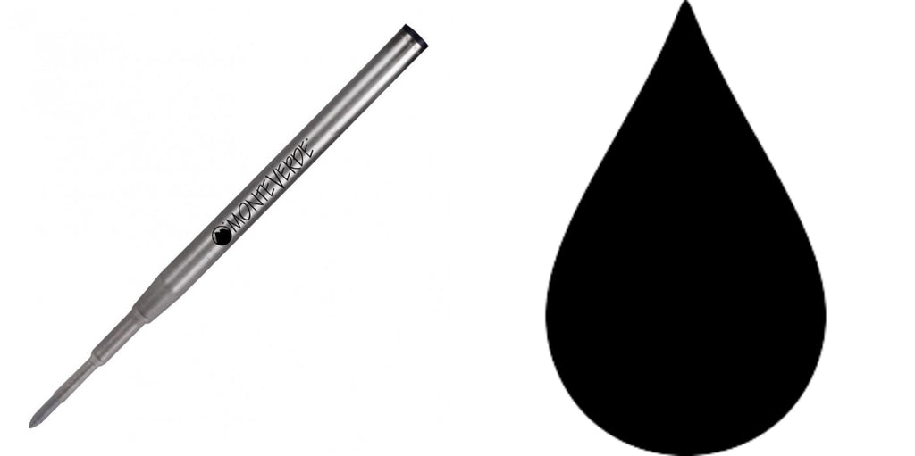 Montblanc Refills By Monteverde - Gel Pen - Black - Medium Point