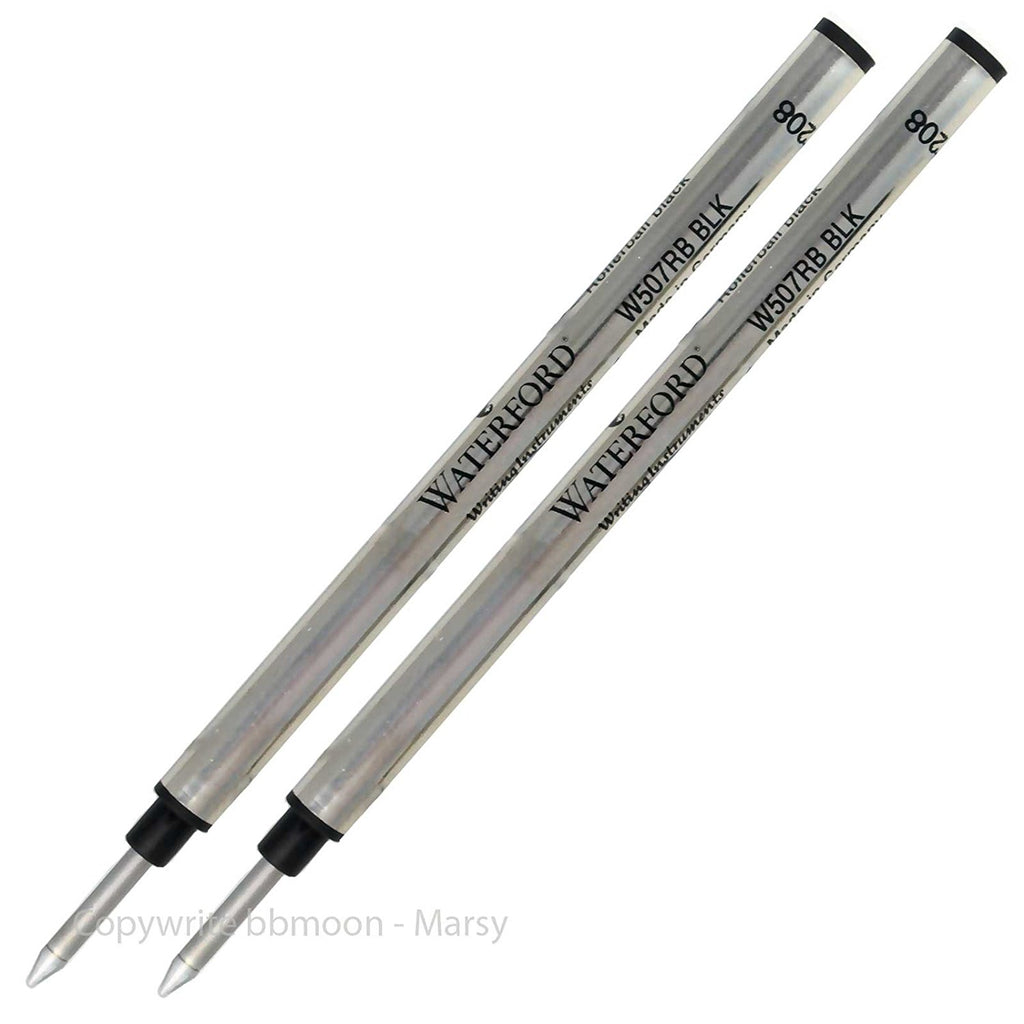 Waterford Refills Black - 2 Pack  Rollerball Pen