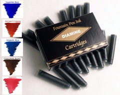 Diamine Refills Sovereign Mixed Assorted Set 20 Per Package Fountain Pen Cartridge