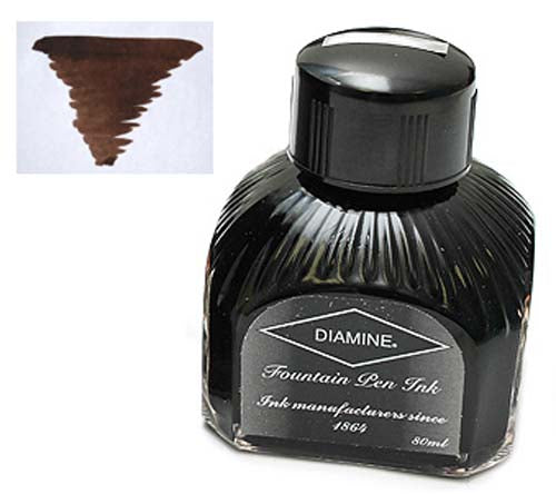 Diamine Refills Macassar  Bottled Ink 80mL