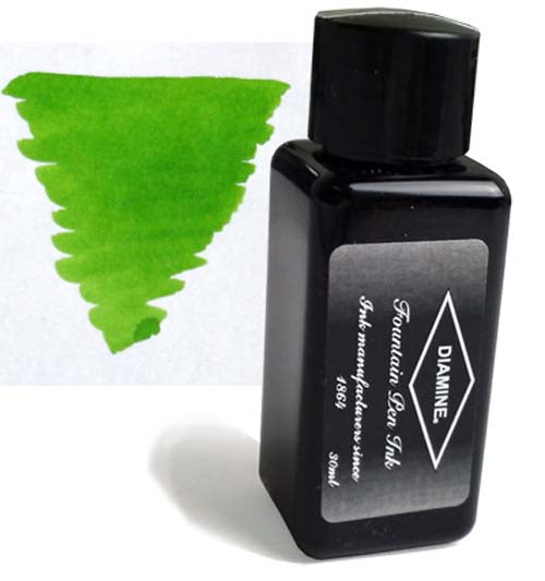 Diamine Refills Kelly Green 30mL  Bottled Ink