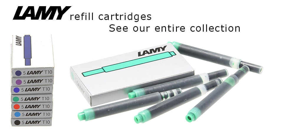 Lamy refill fountain pen cartridges