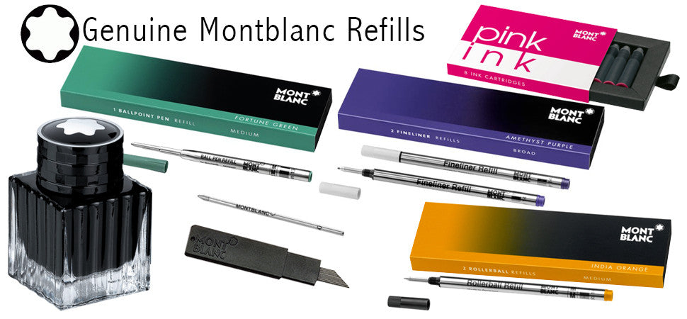 Buy Montblanc Refills at Refill Finder