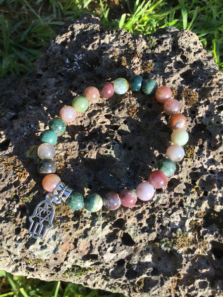 Fancy Jasper Gemstone Bracelet