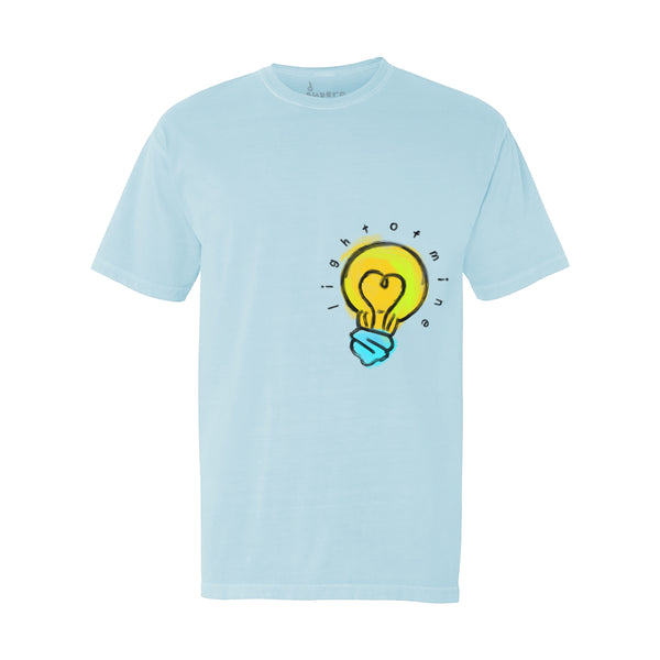 Light Bulb Tee (Blue)