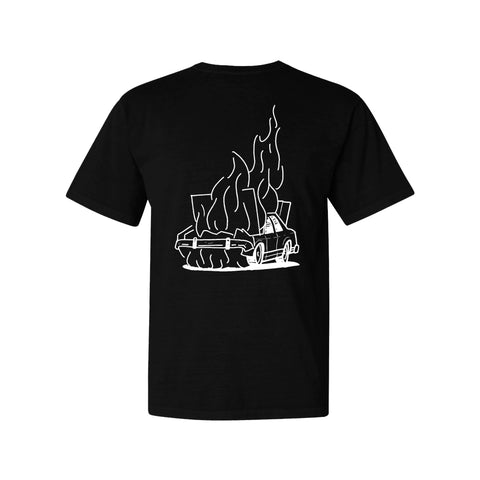 Nothing 2 Lose Up In Flames Tee (Black)